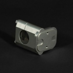 Billet ICO Switch Mount-Throttle Side RRP 054