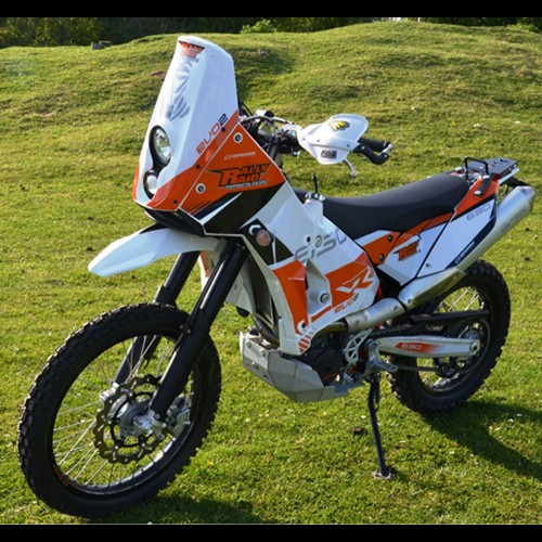 evo2 adventure fairing kit-white rrp 265