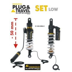 Touratech Suspension SUSPENSION SET Plug & Travel -50 mm lowering for BMW R 1200 GS, 2013 onwards RRP 646