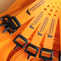 "Giant Loop Pronghorn Straps (20"" orange, set of 2) RRP 715"