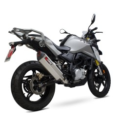 G310GS Scorpion Exhaust-Stainless Steel-RRP 857